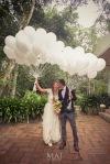Globos Blancos Matrimonio