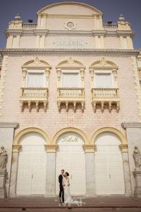 Teatro adolfo mejia cartagena conocido como el teatro de heredia